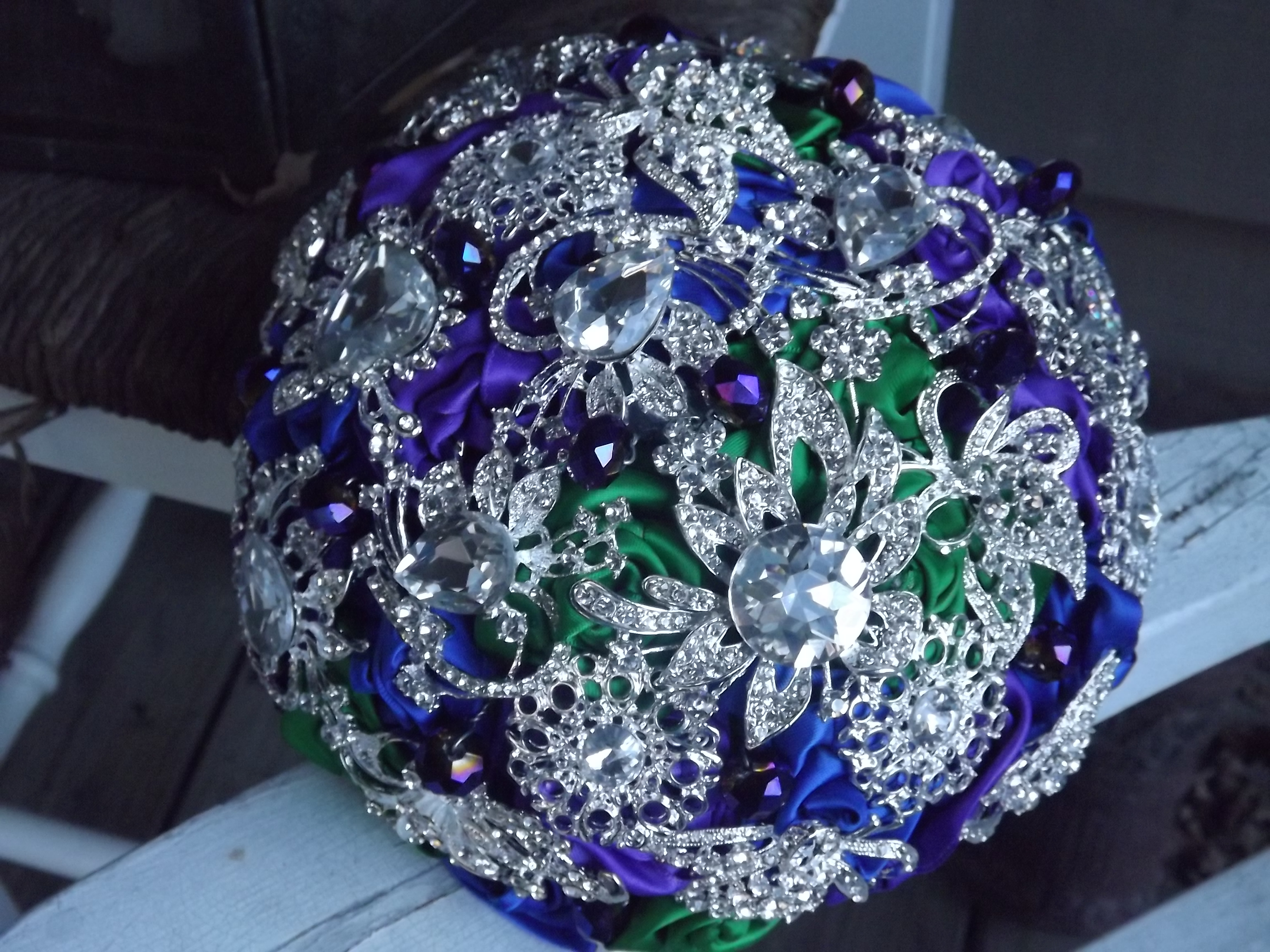 Wedding Brooch Bouquet Nz : Brooch bouquet on luulla